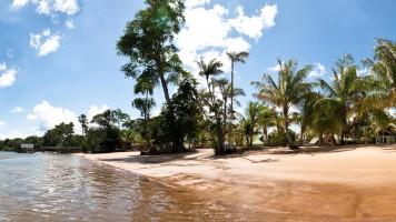 White Beach & Overbridge in Suriname