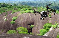 Raleighvallen Voltzberg in Suriname, Drone-reportage + commentaar