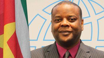 Directeur Stichting Toerisme Suriname, J.R. A Kum
