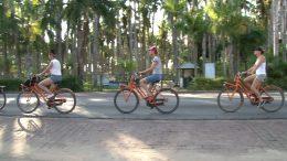 Fietsen in Paramaribo